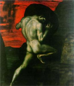 Sisyphus by Franz Stuck