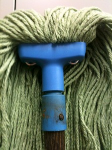 "The title of this image is ""Angry Mop"". And it's exactly how I feel today. This low wiped the floor with me."