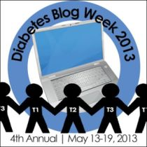 Diabetes Blog Week Button