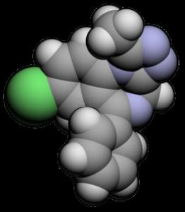 Xanax, in digital molecular form.